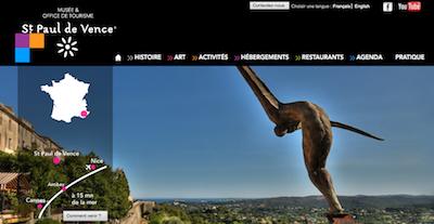 Saint paul de vence site officiel de la mairie saint - Office de tourisme saint paul de vence ...
