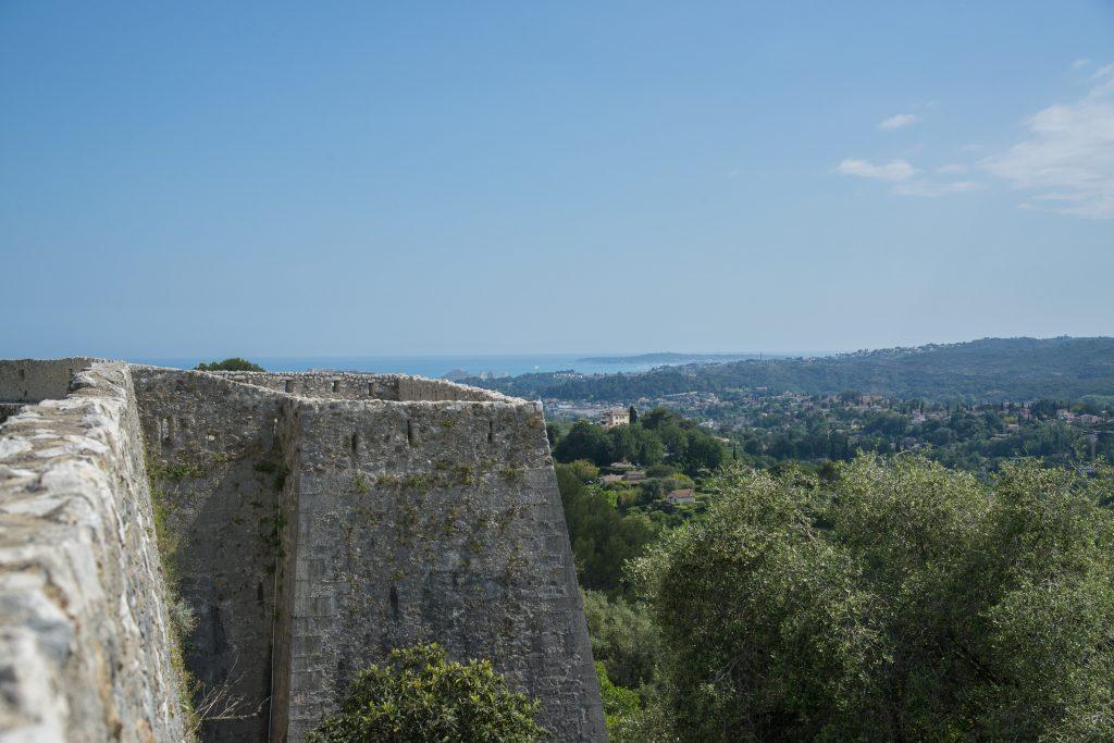Vue des remparts_Saint-Paul de Vence